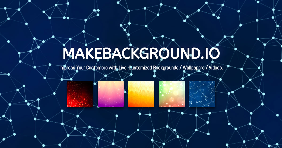 Make Live Wallpaper and Background Online Free