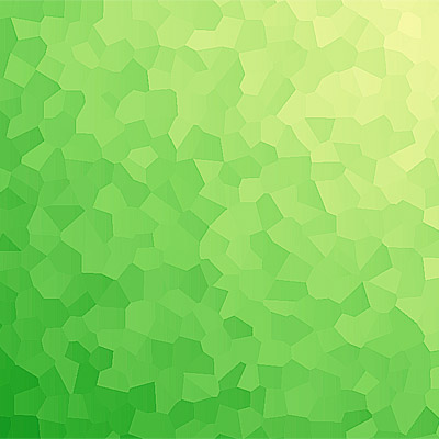 polygon trianglify gradient green